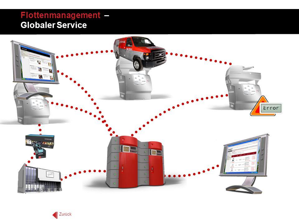 Zurück Flottenmanagement – Globaler Service