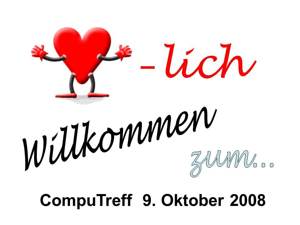 lich CompuTreff 9. Oktober 2008