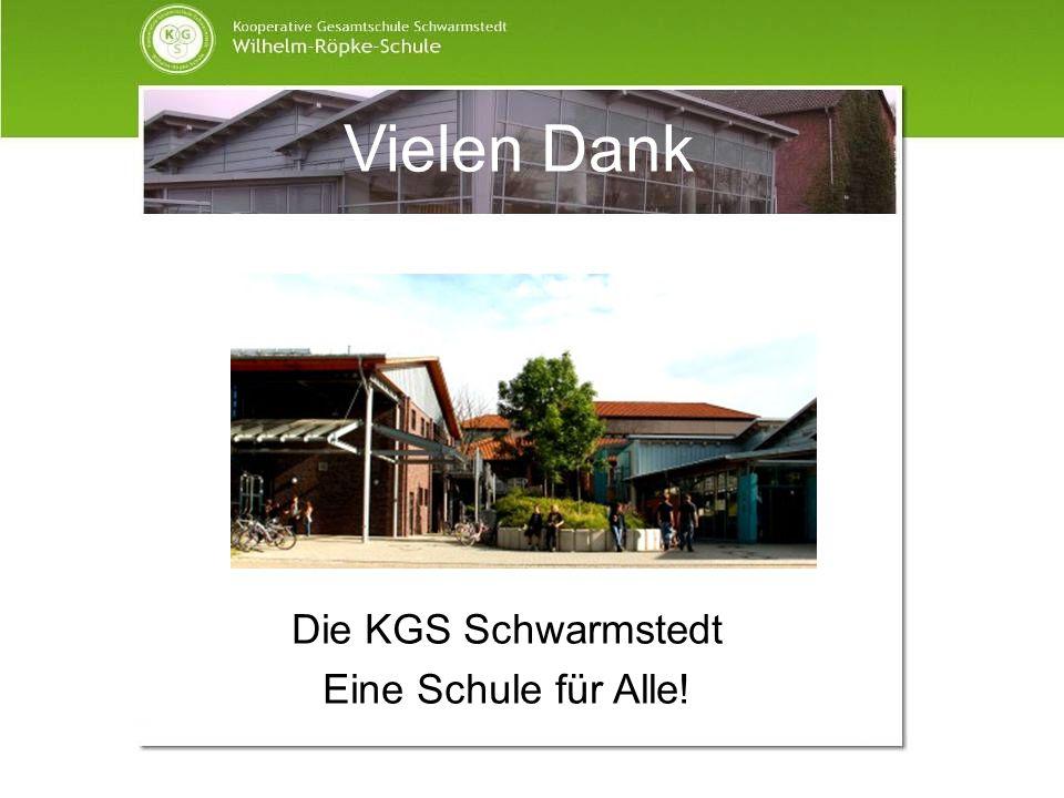 Vielen Dank Die KGS Schwarmstedt Eine Schule für Alle!
