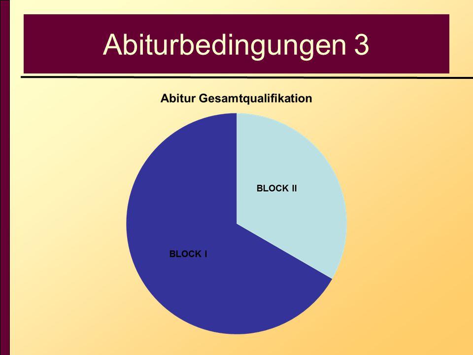 Abiturbedingungen 3