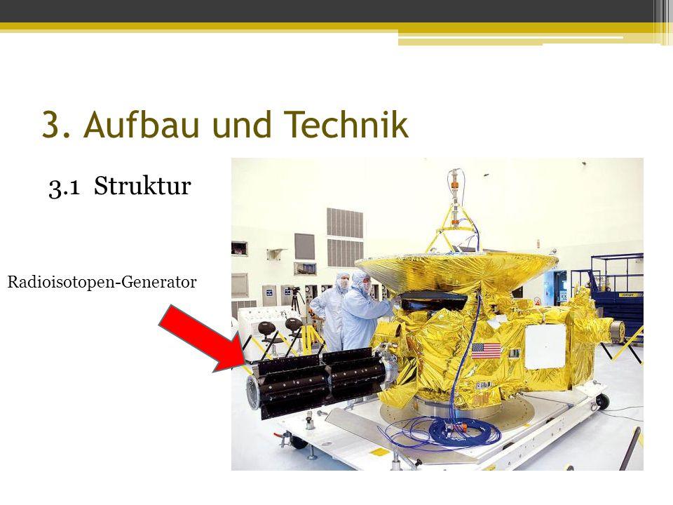 3. Aufbau und Technik 3.1 Struktur Radioisotopen-Generator