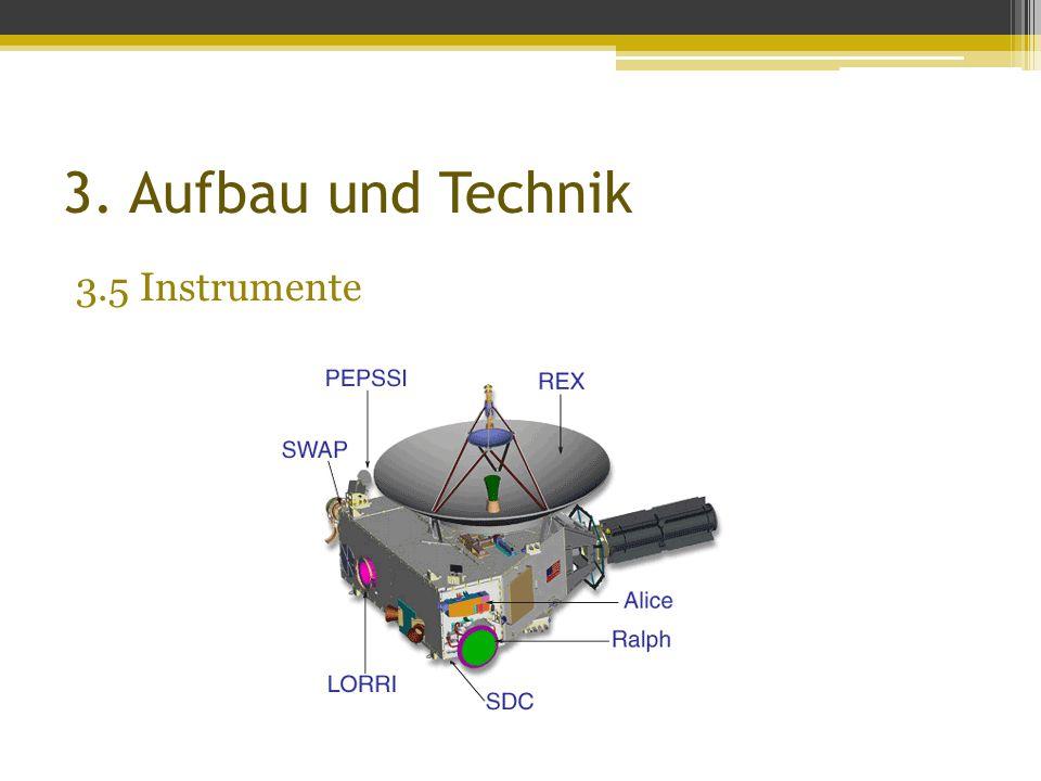 3. Aufbau und Technik 3.5 Instrumente
