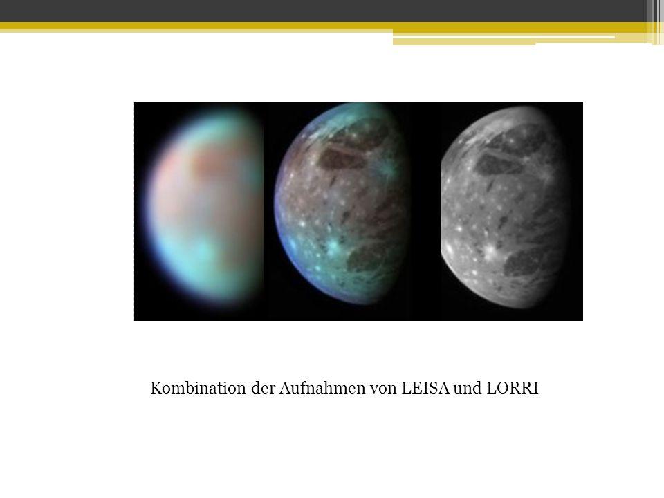 Kombination der Aufnahmen von LEISA und LORRI