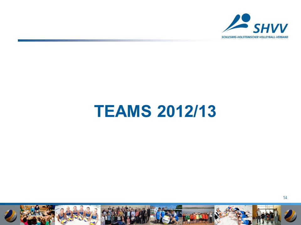 TEAMS 2012/13 14
