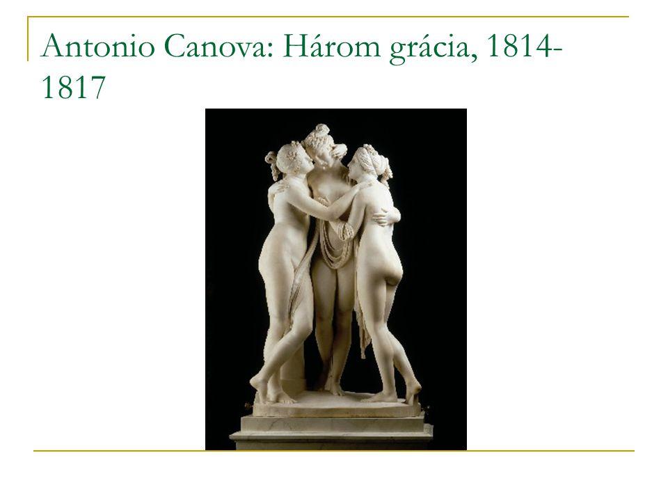 Antonio Canova: Három grácia, 1814- 1817