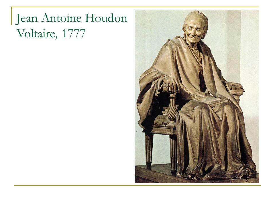 Jean Antoine Houdon Voltaire, 1777