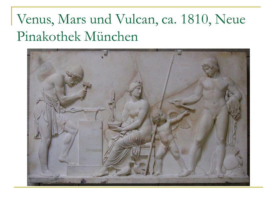 Venus, Mars und Vulcan, ca. 1810, Neue Pinakothek München