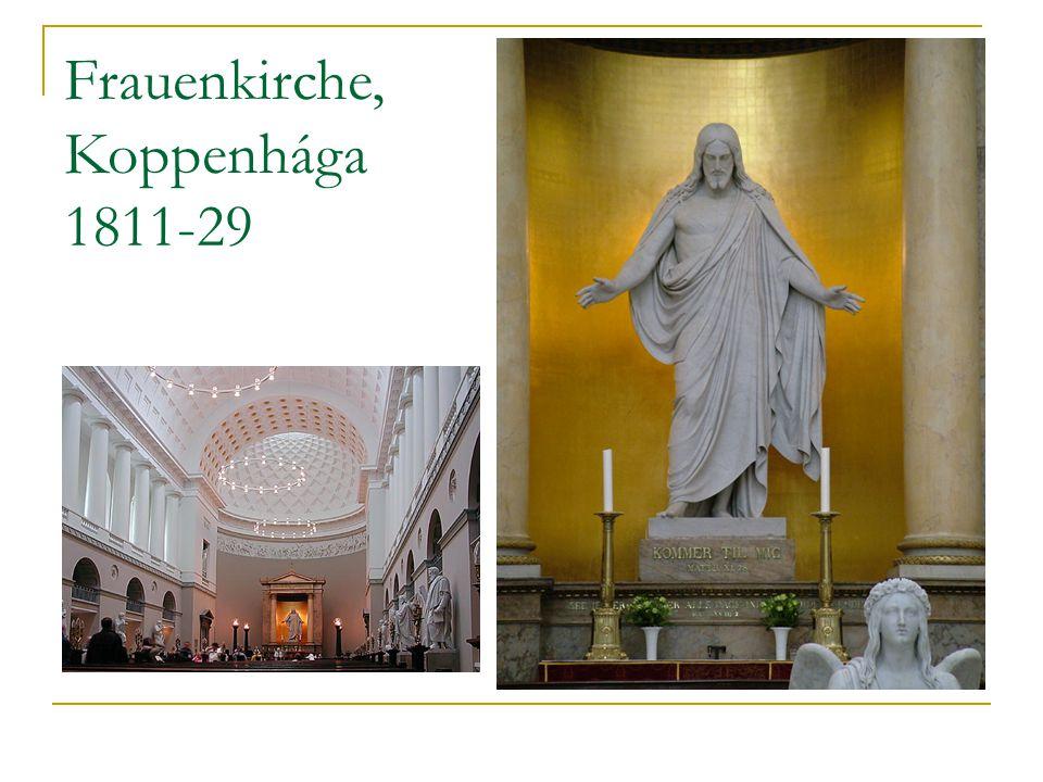Frauenkirche, Koppenhága 1811-29