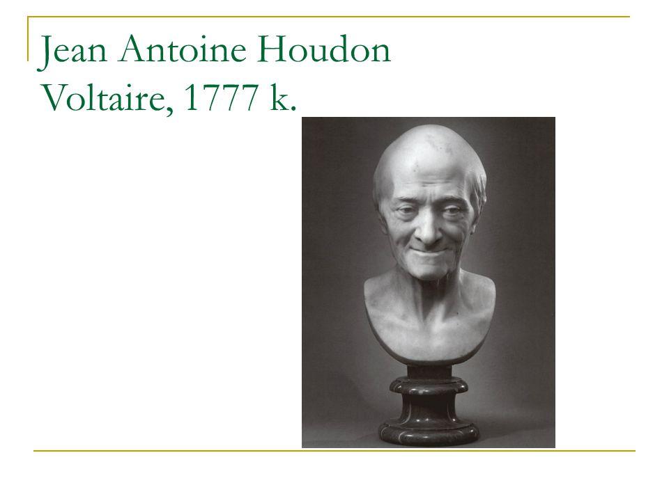 Jean Antoine Houdon Voltaire, 1777 k.
