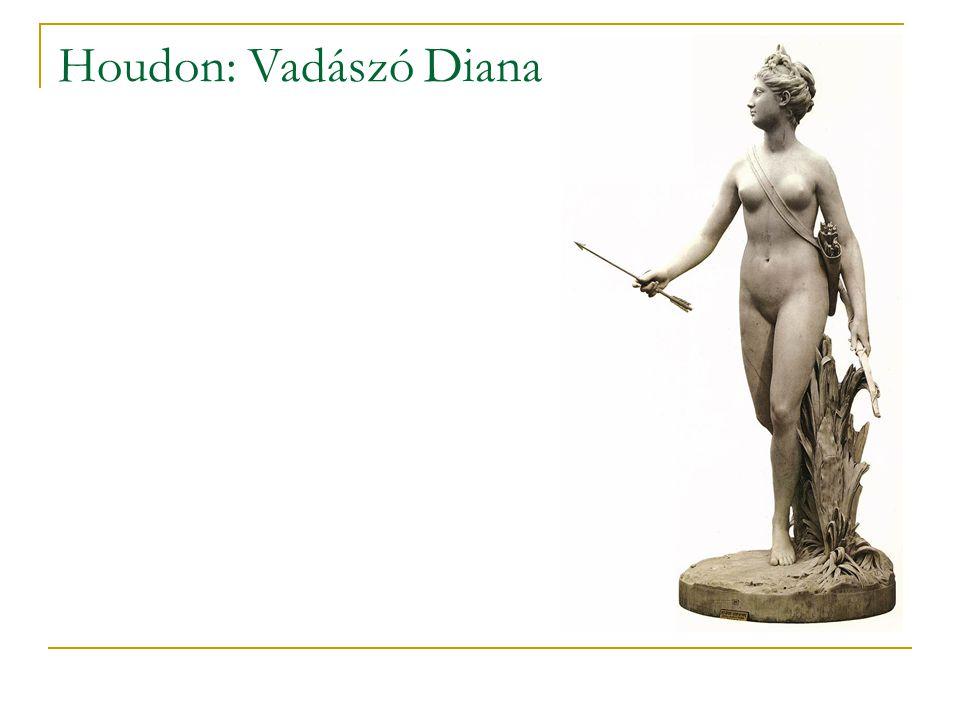Houdon: Vadászó Diana