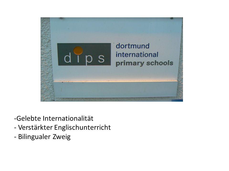 -Gelebte Internationalität - Verstärkter Englischunterricht - Bilingualer Zweig