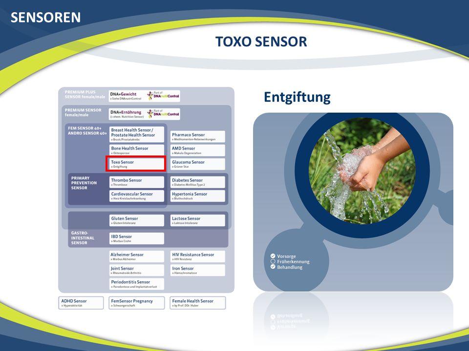 SENSOREN TOXO SENSOR Entgiftung