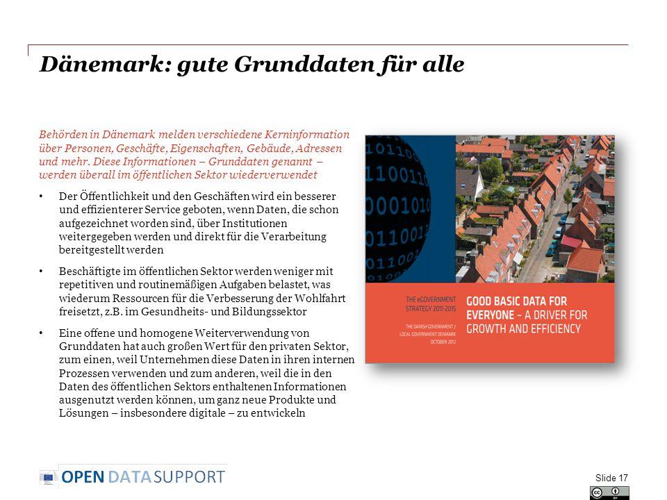 Dänemark: gute Grunddaten für alle Behörden in Dänemark melden verschiedene Kerninformation über Personen, Geschäfte, Eigenschaften, Gebäude, Adressen