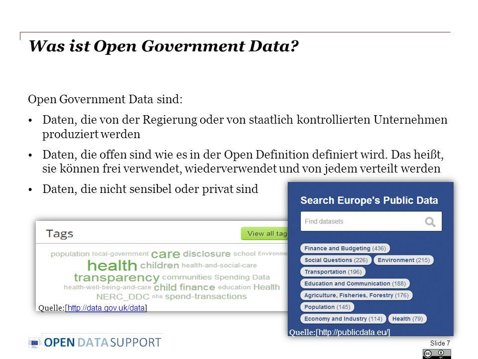 PSI-Richtlinie: Geschichte und Status Richtlinie 2003/98/EC über die Weiterverwendung von Informationen des öffentlichen Sektors Bis 2008 hatten alle Mitgliedstaaten die Implementierung der Verpflichtungen aus der Richtlinie in nationales Recht gemeldet (siehe auch: https://ec.europa.eu/digital-agenda/en/implementation-public-sector-information-directive-member-states)https://ec.europa.eu/digital-agenda/en/implementation-public-sector-information-directive-member-states Überarbeitung der Richtlinie: Vorschlag COM(2011)877 und öffentliche Anhörung im Jahr 2010 Billigung und Veröffentlichung der Richtlinie 2013/37/EU des Europäischen Parlaments und des Rates vom 26.