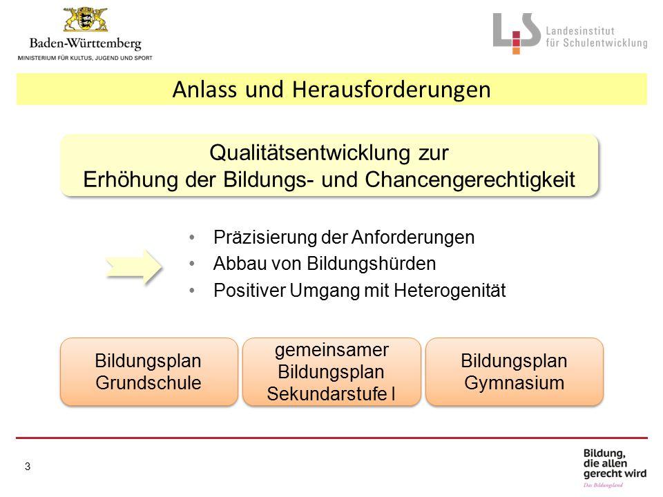 Implementierung – Umsetzungshilfen 24 Deutsch, Mathematik, Französisch und Englisch Kl.