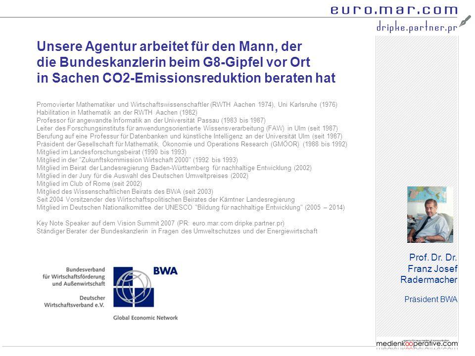 """Frank Müller Geschäftsführer Business Angels FrankfurtRhein Main (BA-FRM) """" Wir haben uns für euro.mar.com dripke.partner.pr als PR-Agentur entschieden, weil uns die Kompetenz überzeugt hat."""