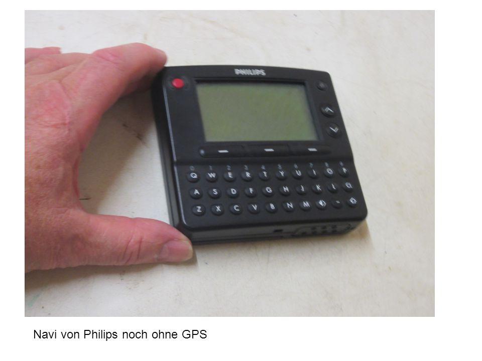 Navi von Philips noch ohne GPS