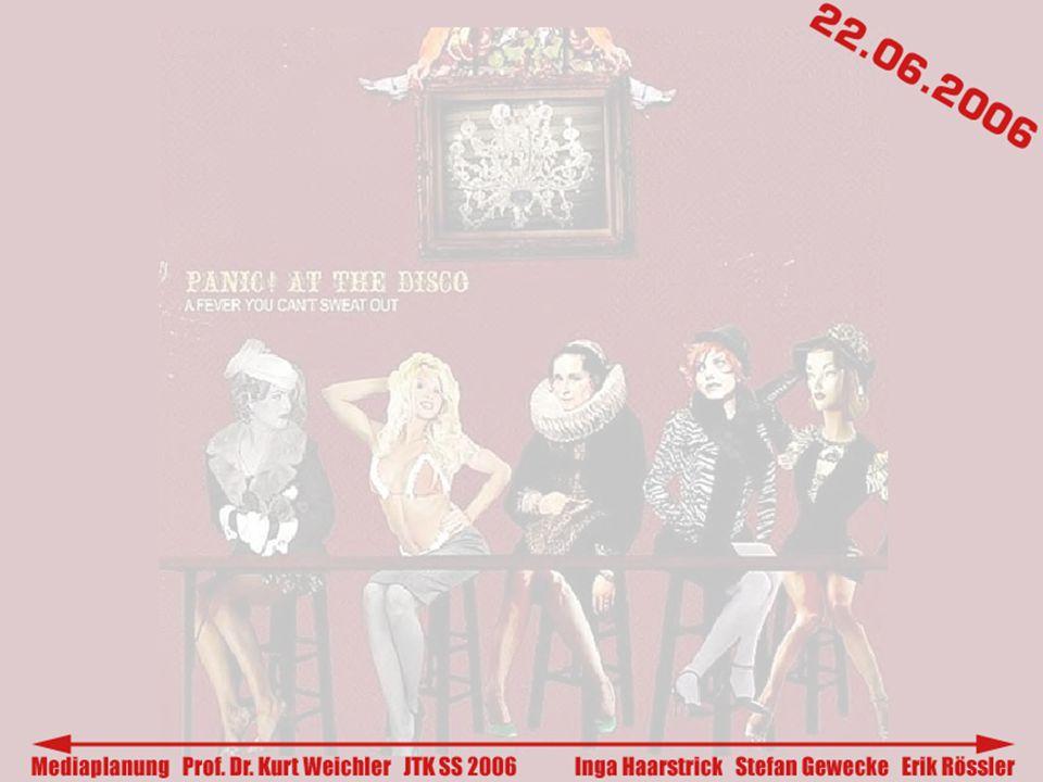 - Promotion-Agentur - Steigerung des Bekanntheitsgrades der Band Panic.