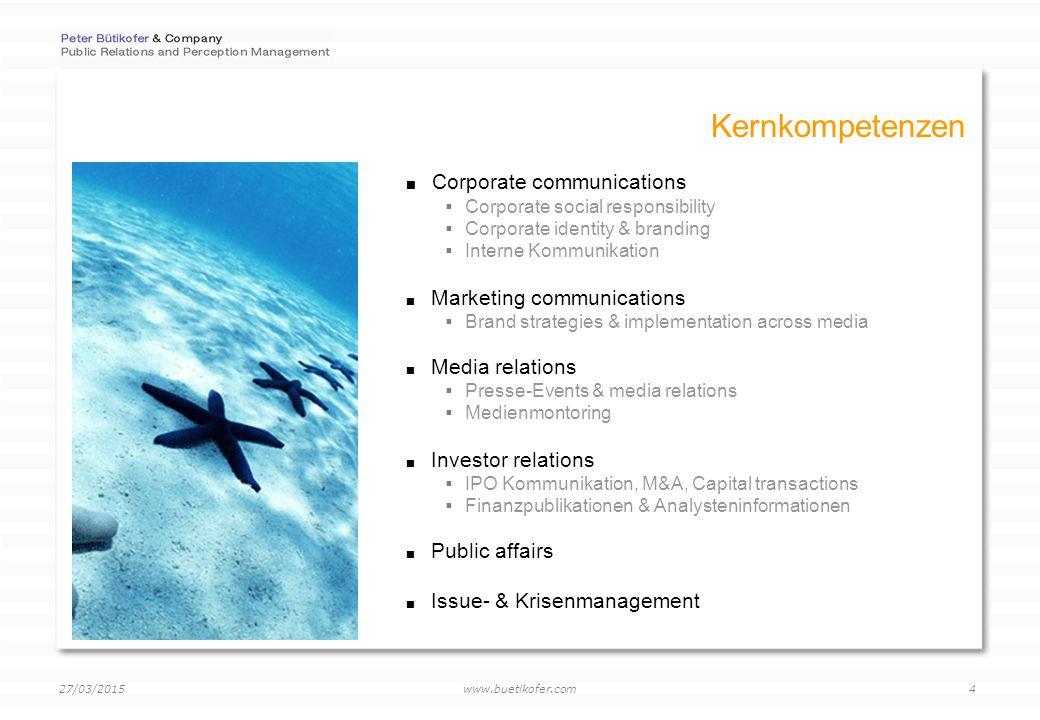 www.buetikofer.com 27/03/2015 5 Online solutions by Newland  Online-Befragungen  Monitoring services  Online Publications Web 2.0  Online Panels  Online Relations