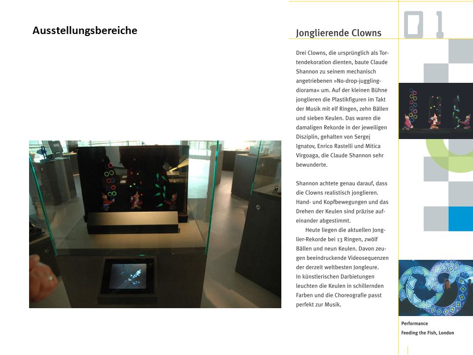 Ausstellungsbereiche