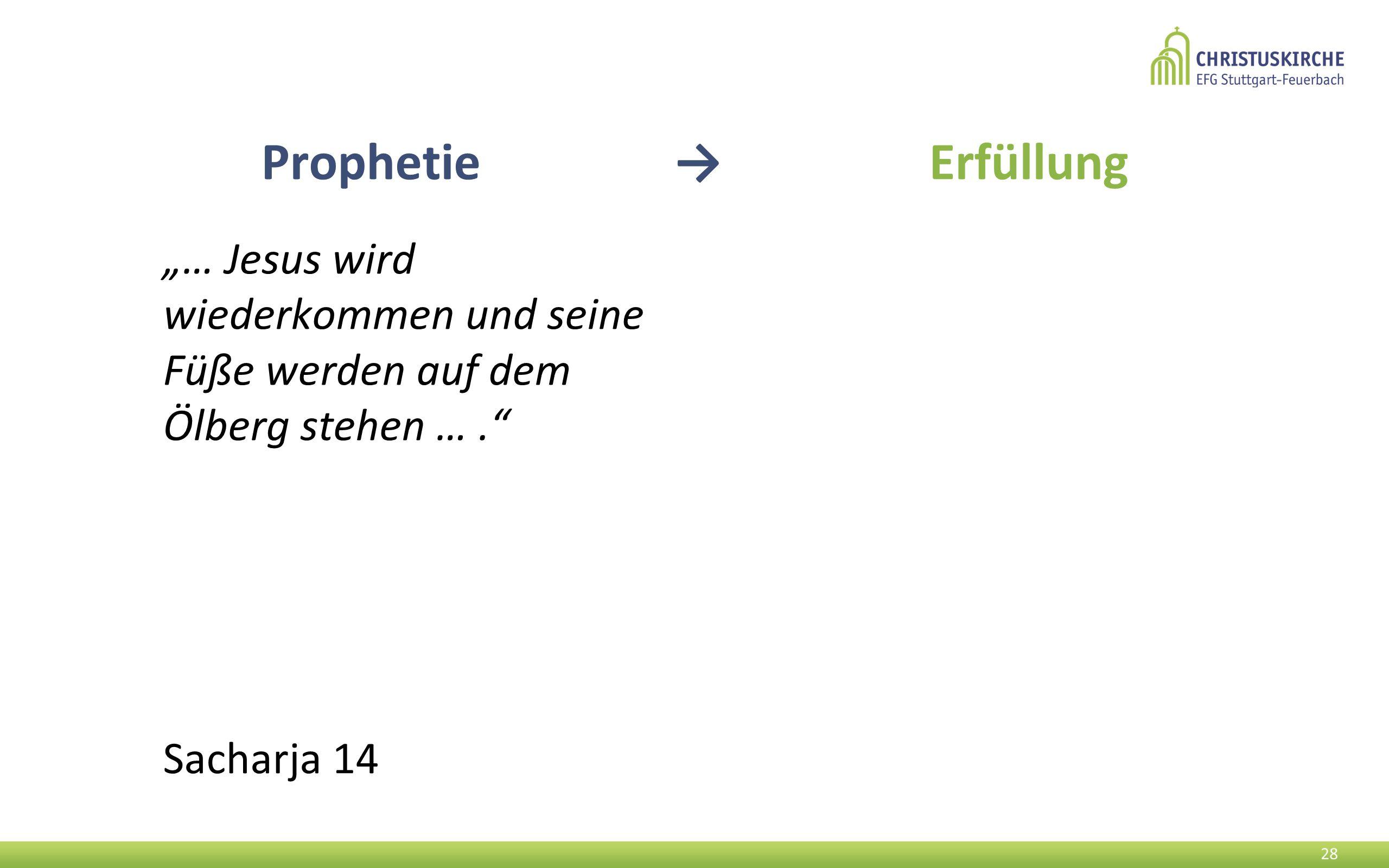 """""""… Jesus wird wiederkommen und seine Füße werden auf dem Ölberg stehen …. Sacharja 14 28 Prophetie → Erfüllung"""