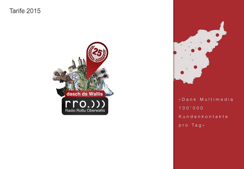 Radio Rottu Oberwallis AG | Treichweg 1 | Postfach | 3930 Visp | Tel.