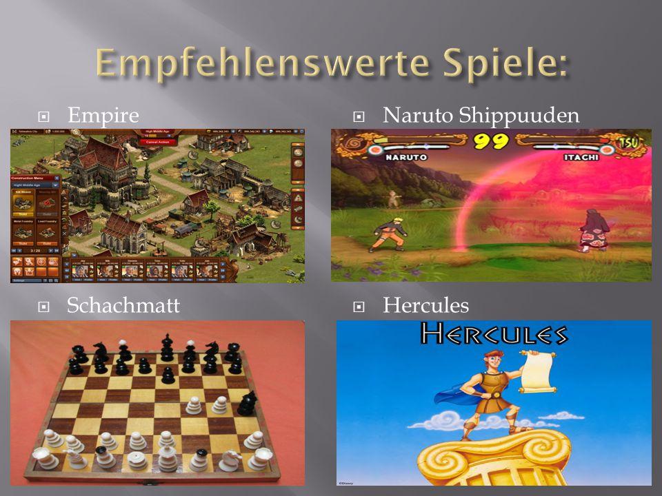  Naruto Shippuuden  Hercules  Empire  Schachmatt