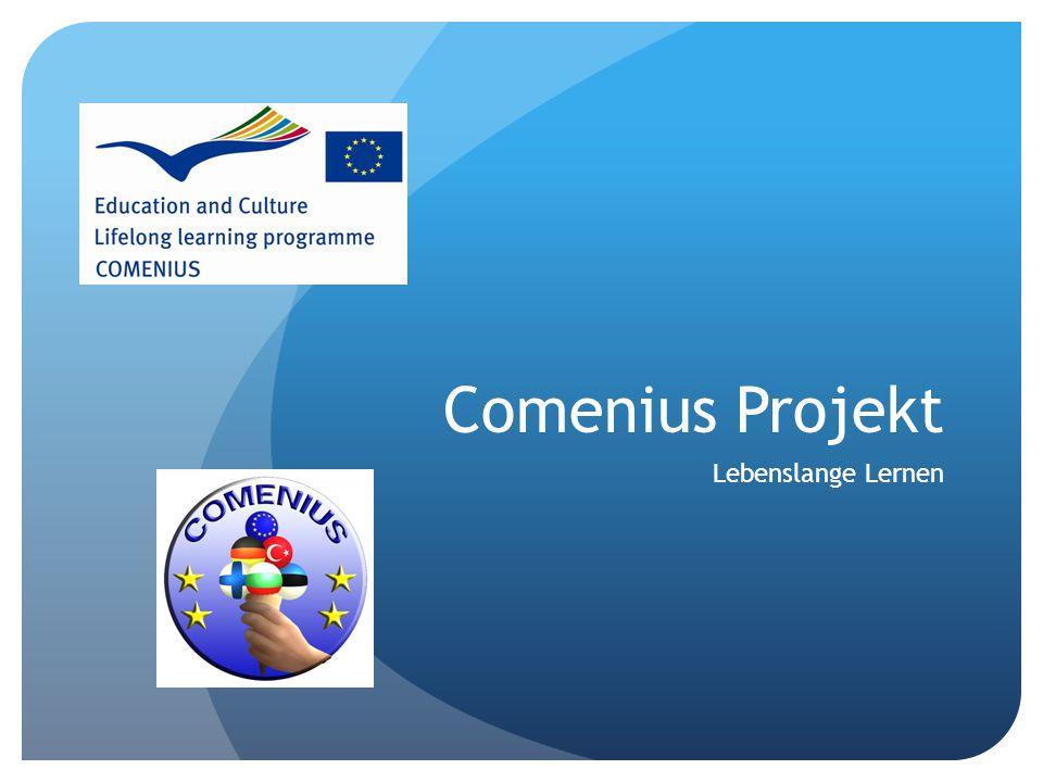Comenius Projekt Lebenslange Lernen