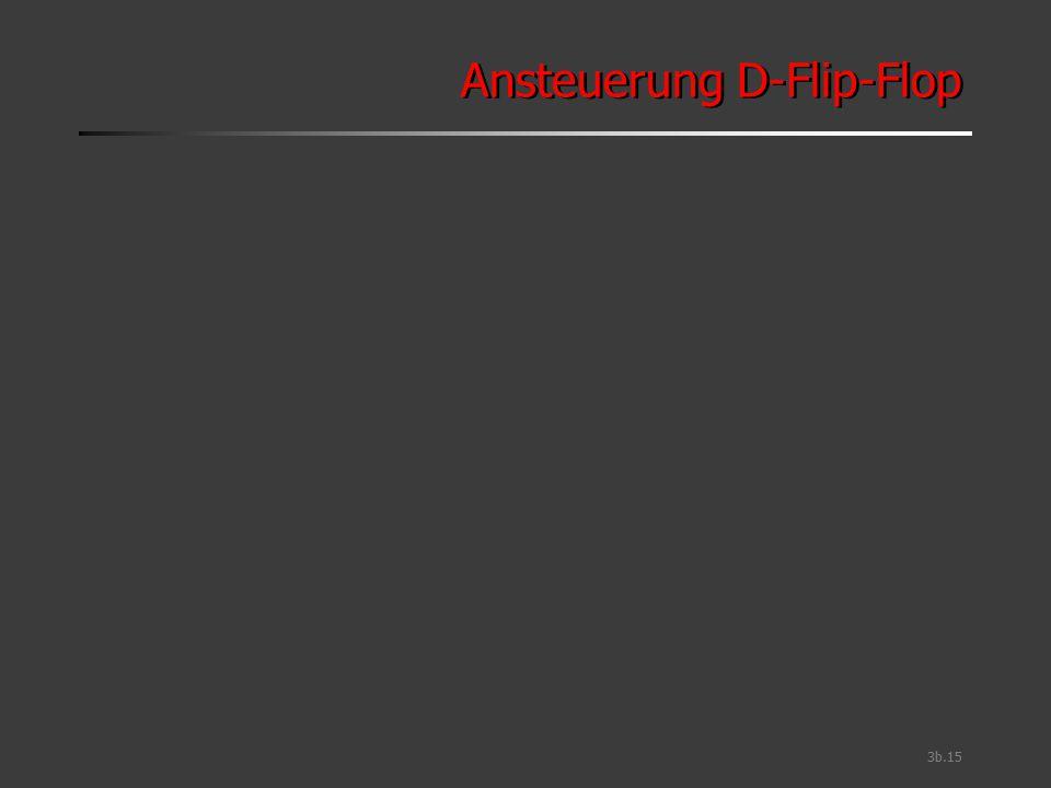3b.15 Ansteuerung D-Flip-Flop
