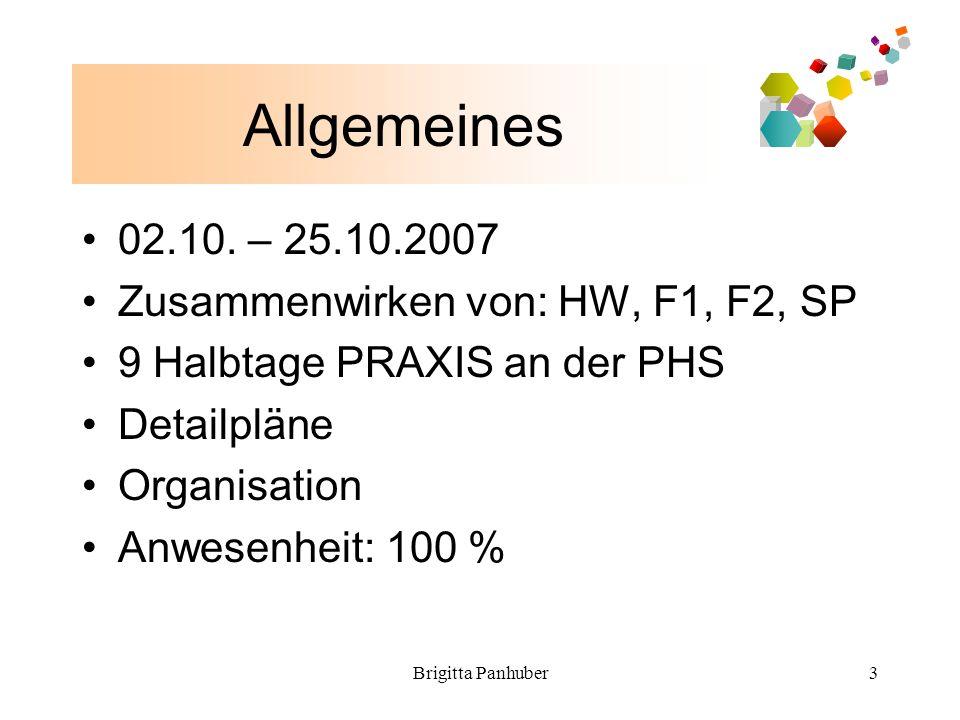 Brigitta Panhuber3 Allgemeines 02.10.