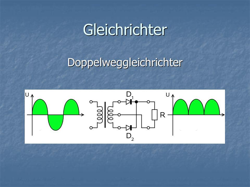 Gleichrichter Brückengleichrichter