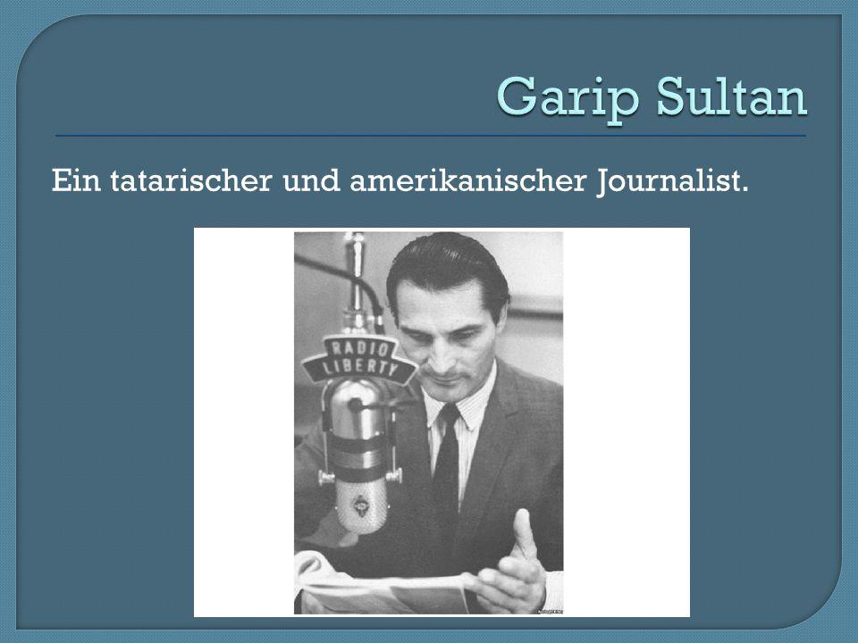 Ein tatarischer und amerikanischer Journalist.