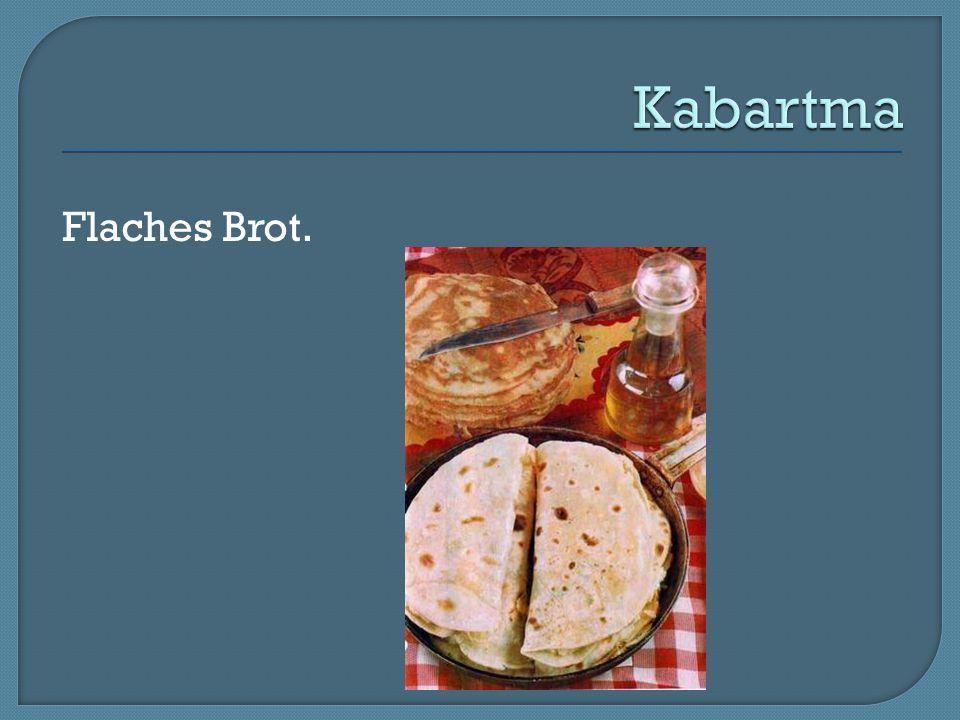 Flaches Brot.