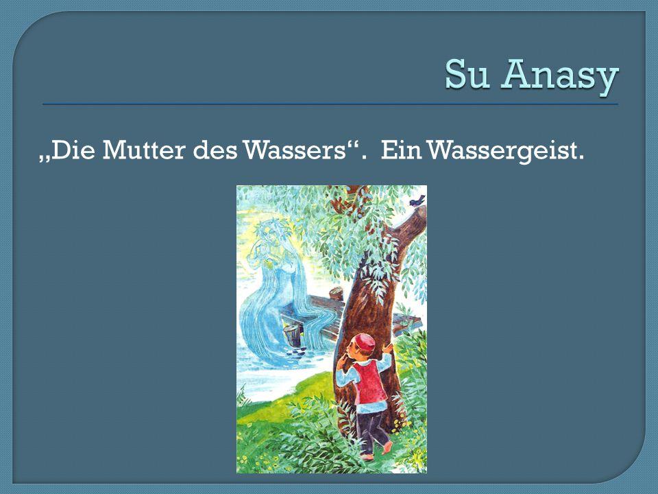 """""""Die Mutter des Wassers"""". Ein Wassergeist."""