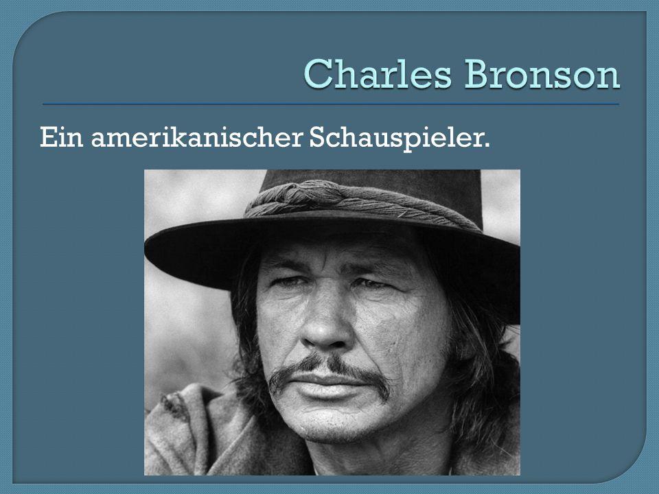 Ein amerikanischer Schauspieler.