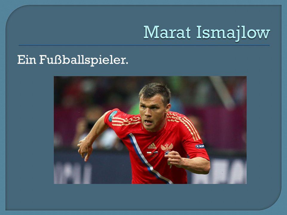 Ein Fußballspieler.