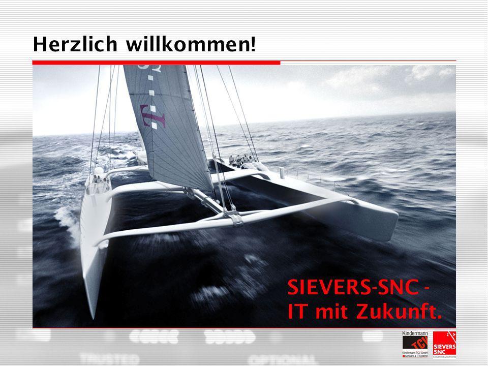 Herzlich willkommen! SIEVERS-SNC - IT mit Zukunft.