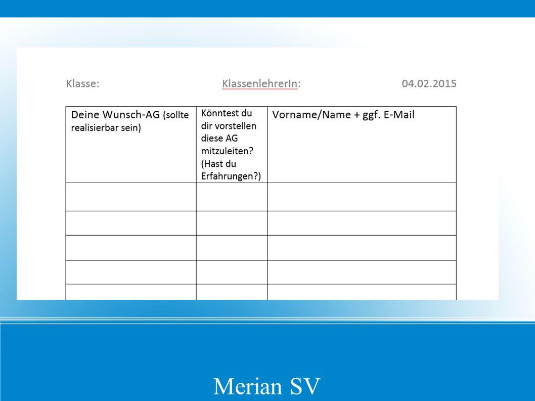 Merian SV
