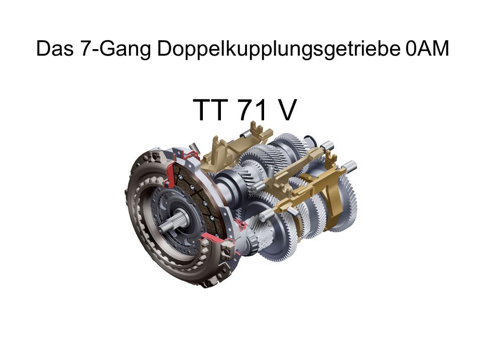 TT 71 V Das 7-Gang Doppelkupplungsgetriebe 0AM