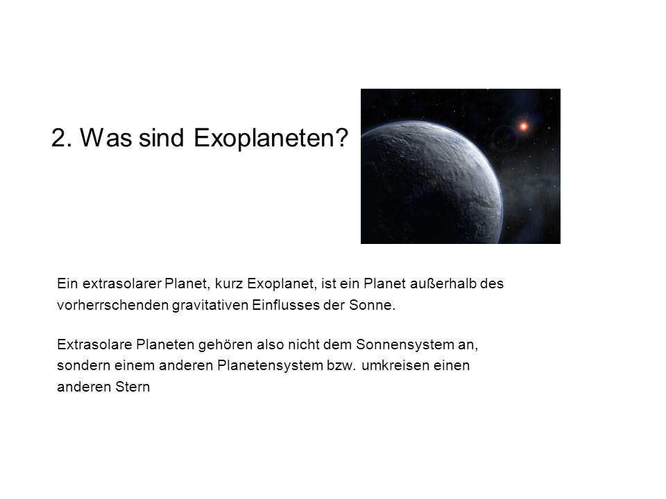 2.Was sind Exoplaneten.