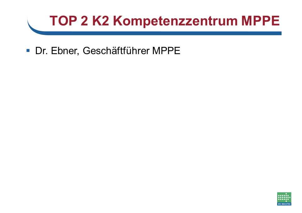 TOP 3 Stärkefeld-Matrix next steps…