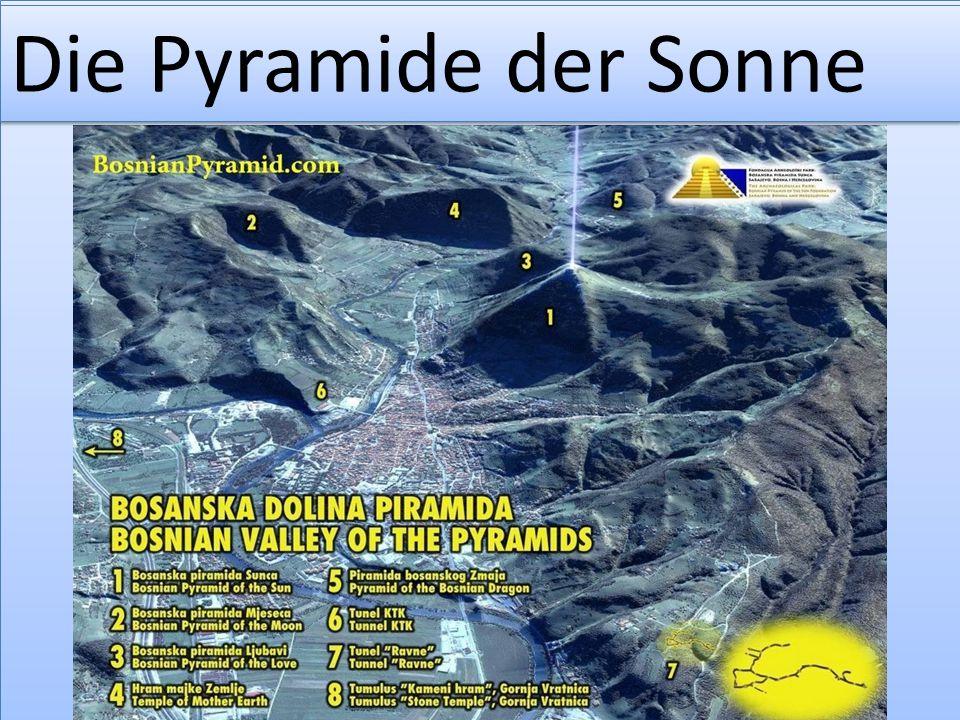 Sonnenpyramide – Blick Richtung Westen