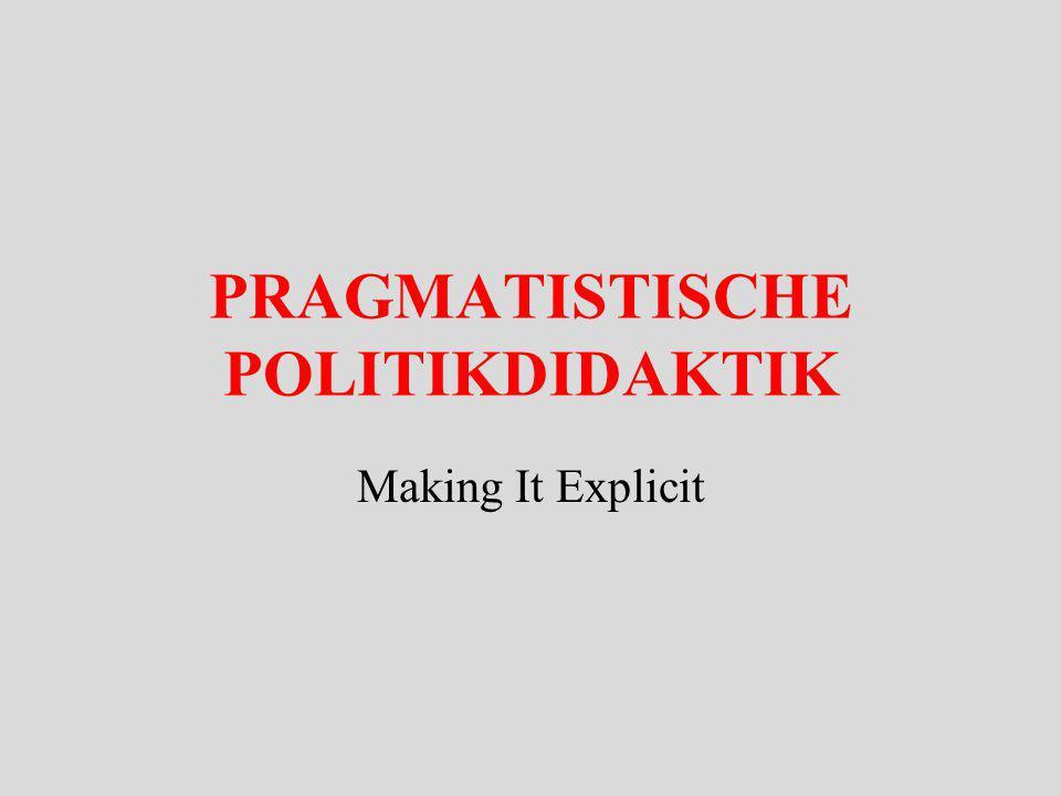 Gegen den Dogmatismus des Essentialismus WESEN Erscheinung Objekt W1 W2 W3 Wn Pragmatistische EK Essentialist.
