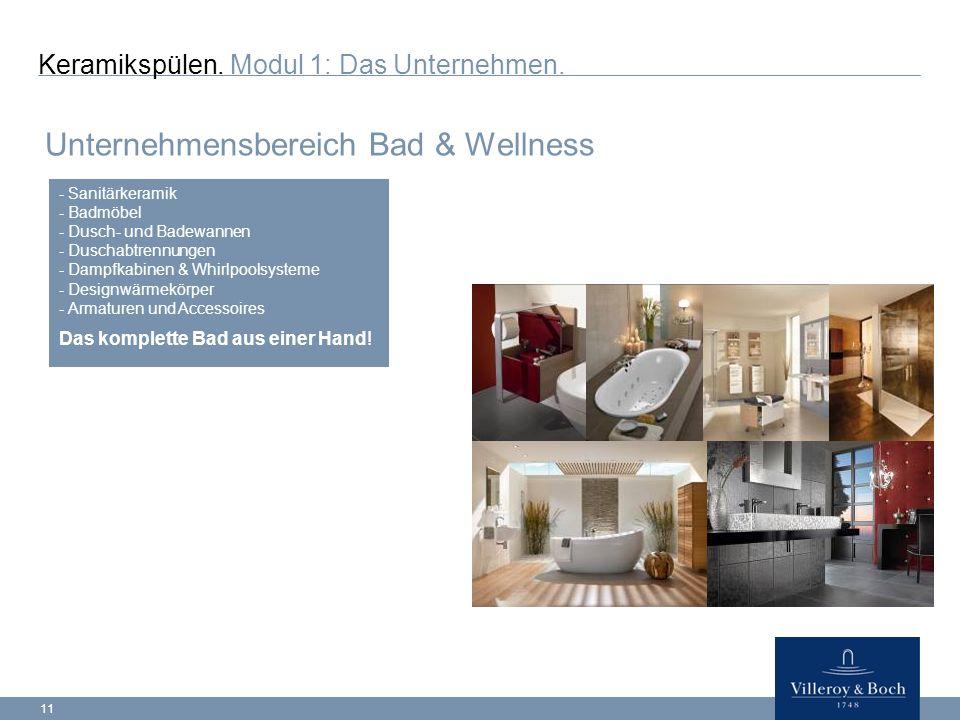 11 Keramikspülen.Modul 1: Das Unternehmen.
