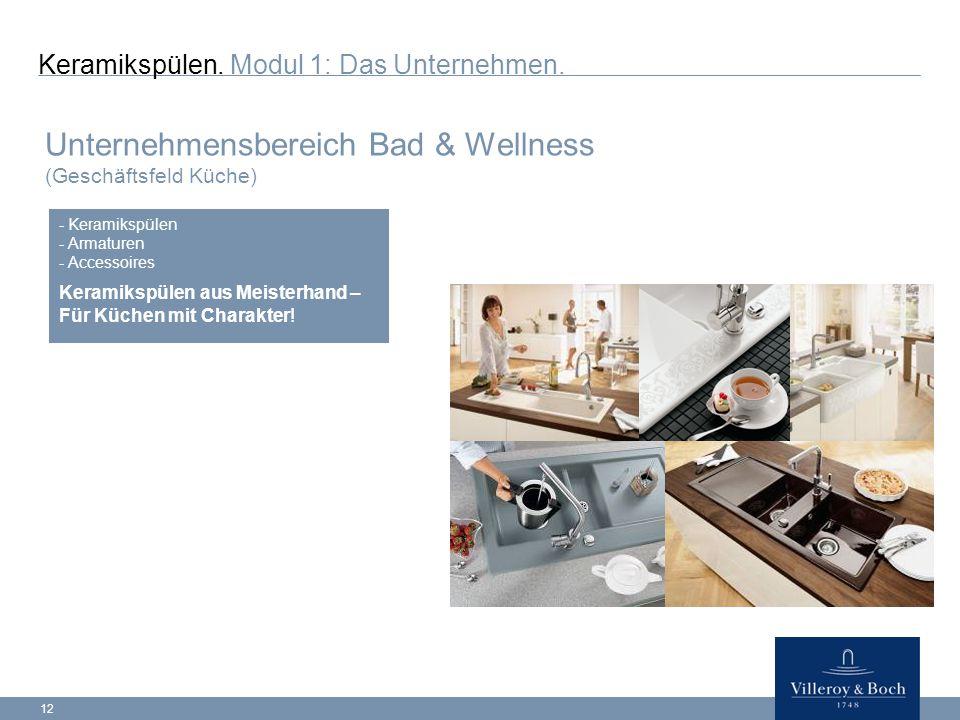 12 Keramikspülen.Modul 1: Das Unternehmen.