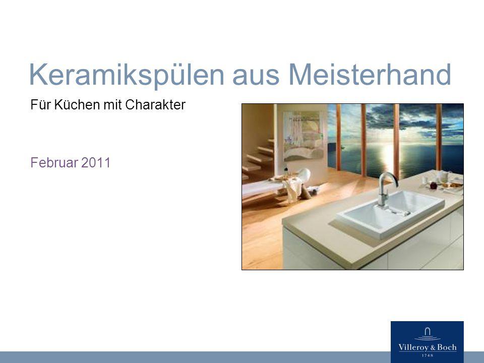Keramikspülen aus Meisterhand Für Küchen mit Charakter Februar 2011