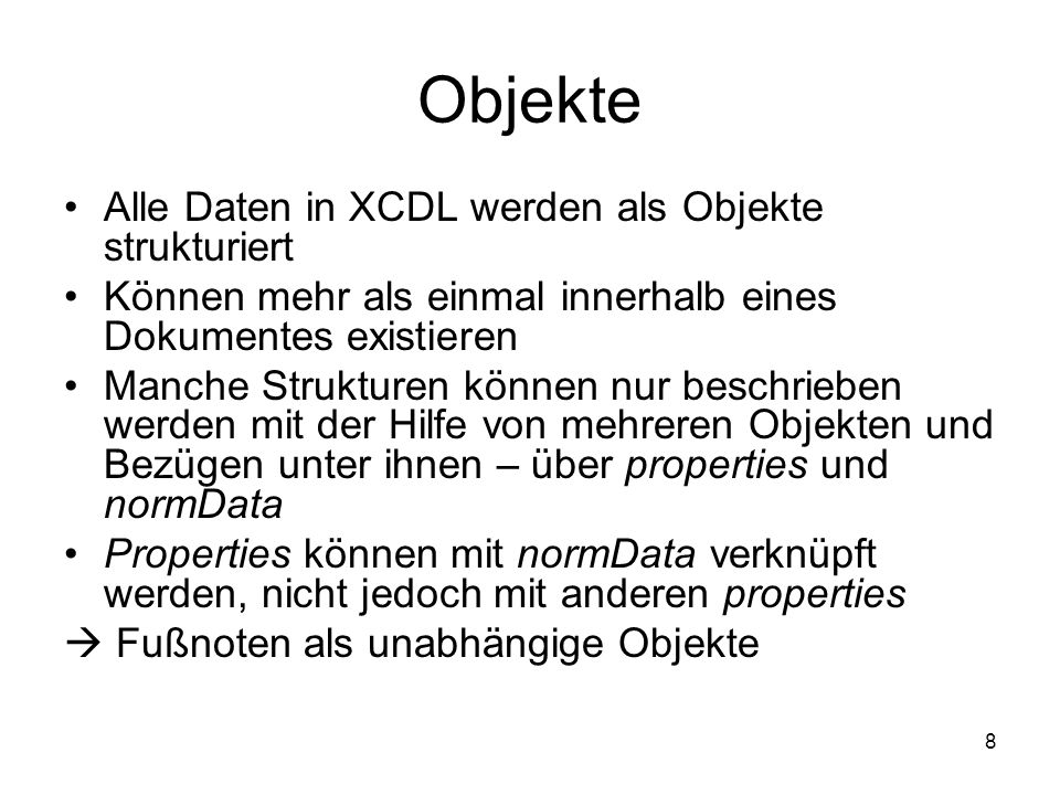 9 XCDL mit Fußnote This is only a short1 text.
