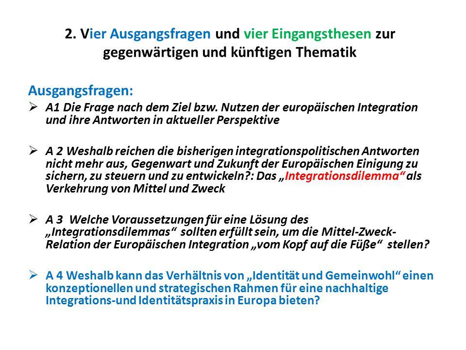 Zusammenfassung: Basis, Weg und Ziel europäischer Identitätspraxis 1.