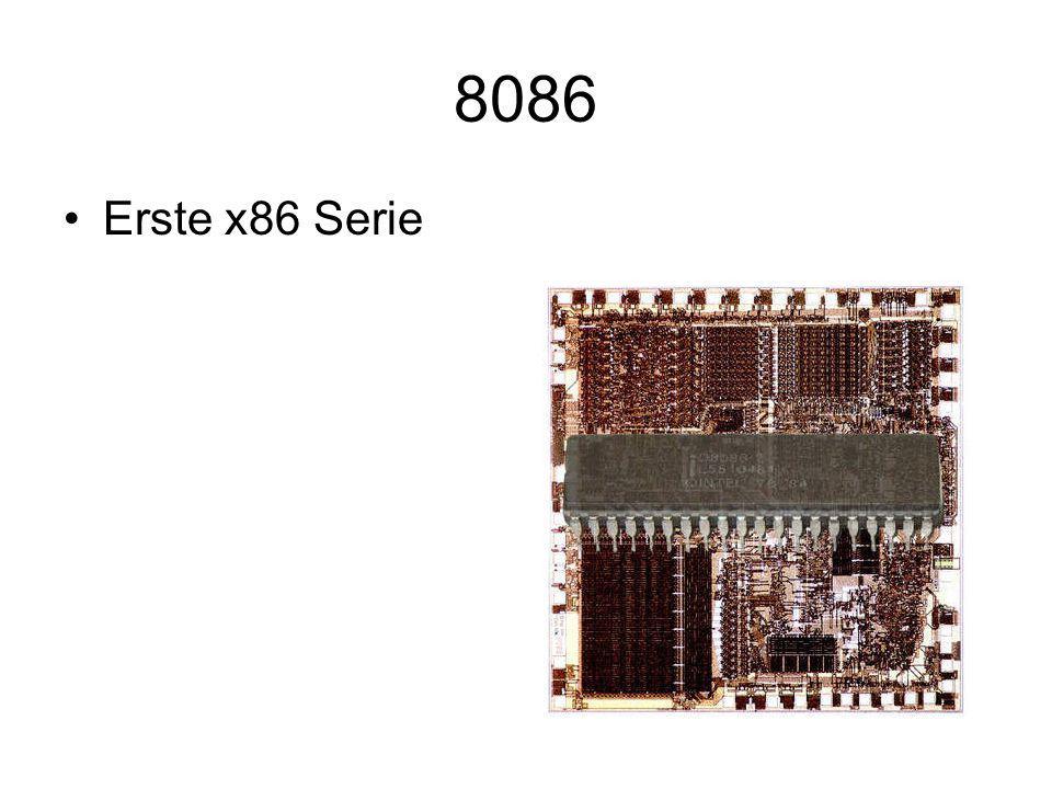 Pentium Dual Core Erster Prozessor, der aus 2 Kernen besteht.