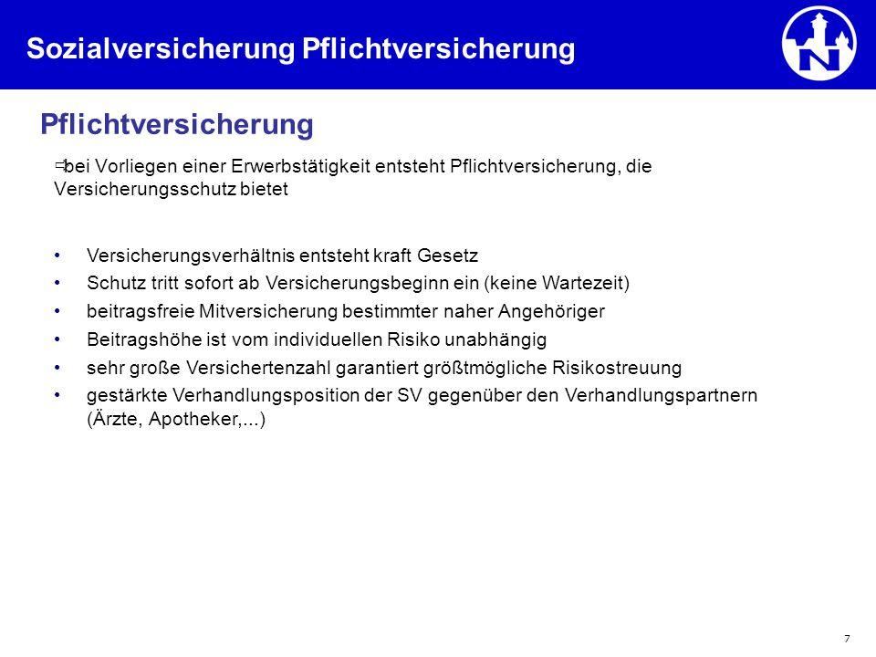 78 3.2.FLV (3) 3.2 Prinzip der FLV (2) Beitrag und Versicherungssumme Keine vers.-math.